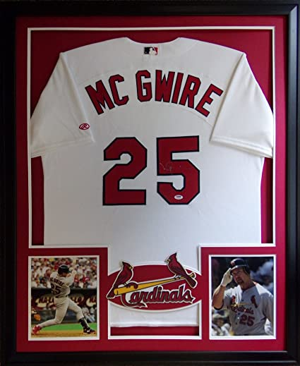 reputable site ed84c 45a07 Mark McGwire St Louis Cardinals Autograph Signed Custom ...