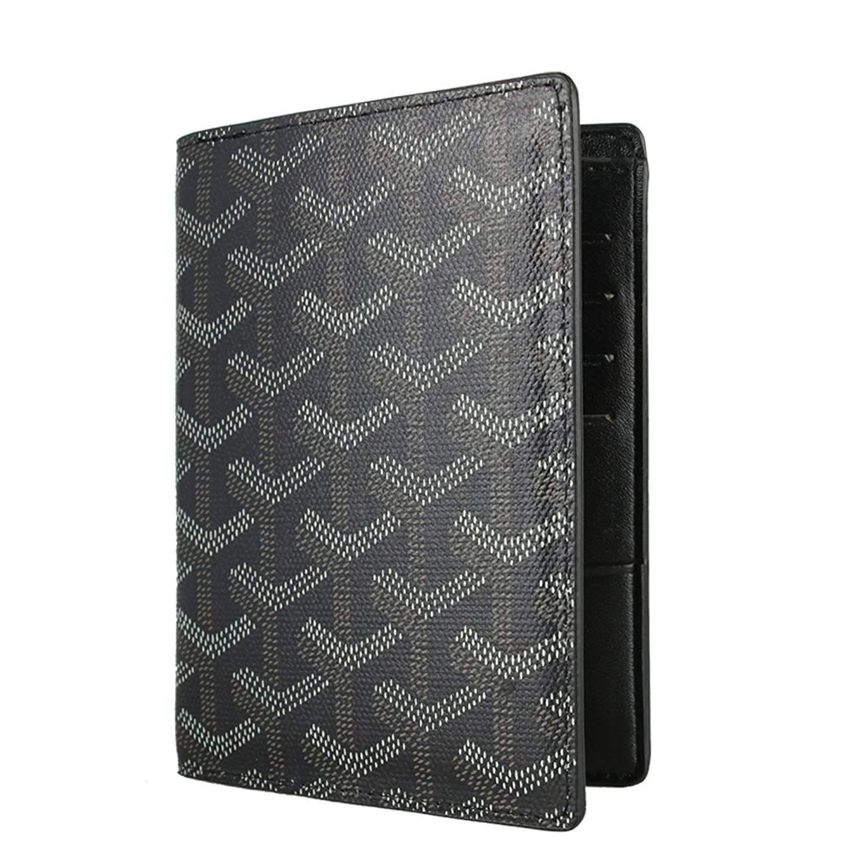 Stylesty Designer Passport Holder Travel Wallet,PU Leather Passport Cover/ Case for Men & Women (blue)