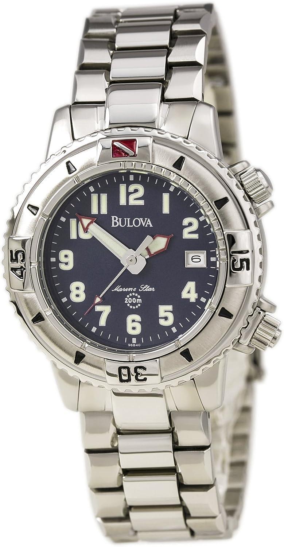 B0000TFVZU Bulova Marine Star Men's Watch 96B40 71lZRGZTnmL.UL1500_