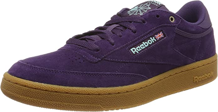 Reebok Club C 85 Sneakers Fitnessschuhe Herren Lila