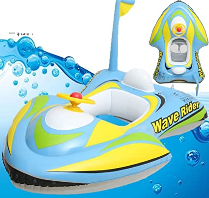 Amazon.com: motoboat bebé Kids inflable Flota Raft Barco ...