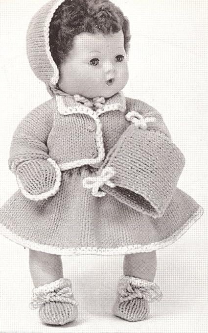 Vintage Baby Doll Pattern ~ Sunsuit /& Bonnet