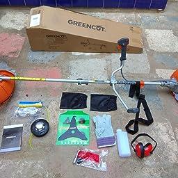 Amazon.es:Opiniones de clientes: Greencut GGT650X-2 - Desbrozadora ...