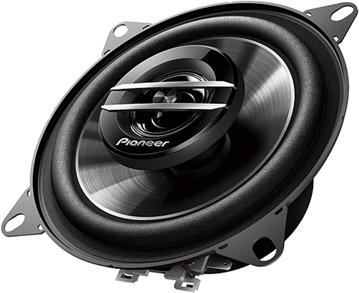 Pioneer TS-G1020S 420 Watts Max Power 4 2-Way G-Series Coaxial Full Range Car Audio Stereo Speakers with ALPHASONIK Earbuds