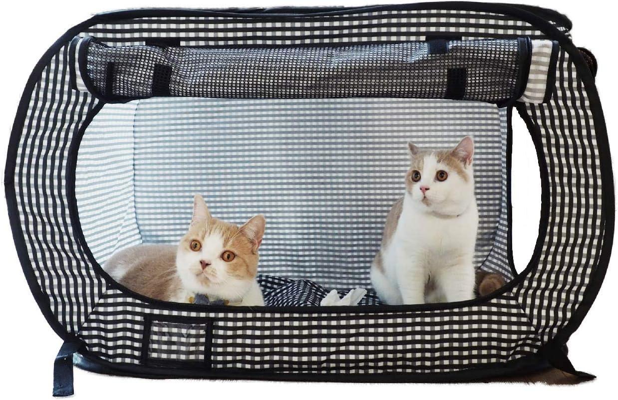 Necoichi Portable Stress Free Cat Cage Always Ready to go!
