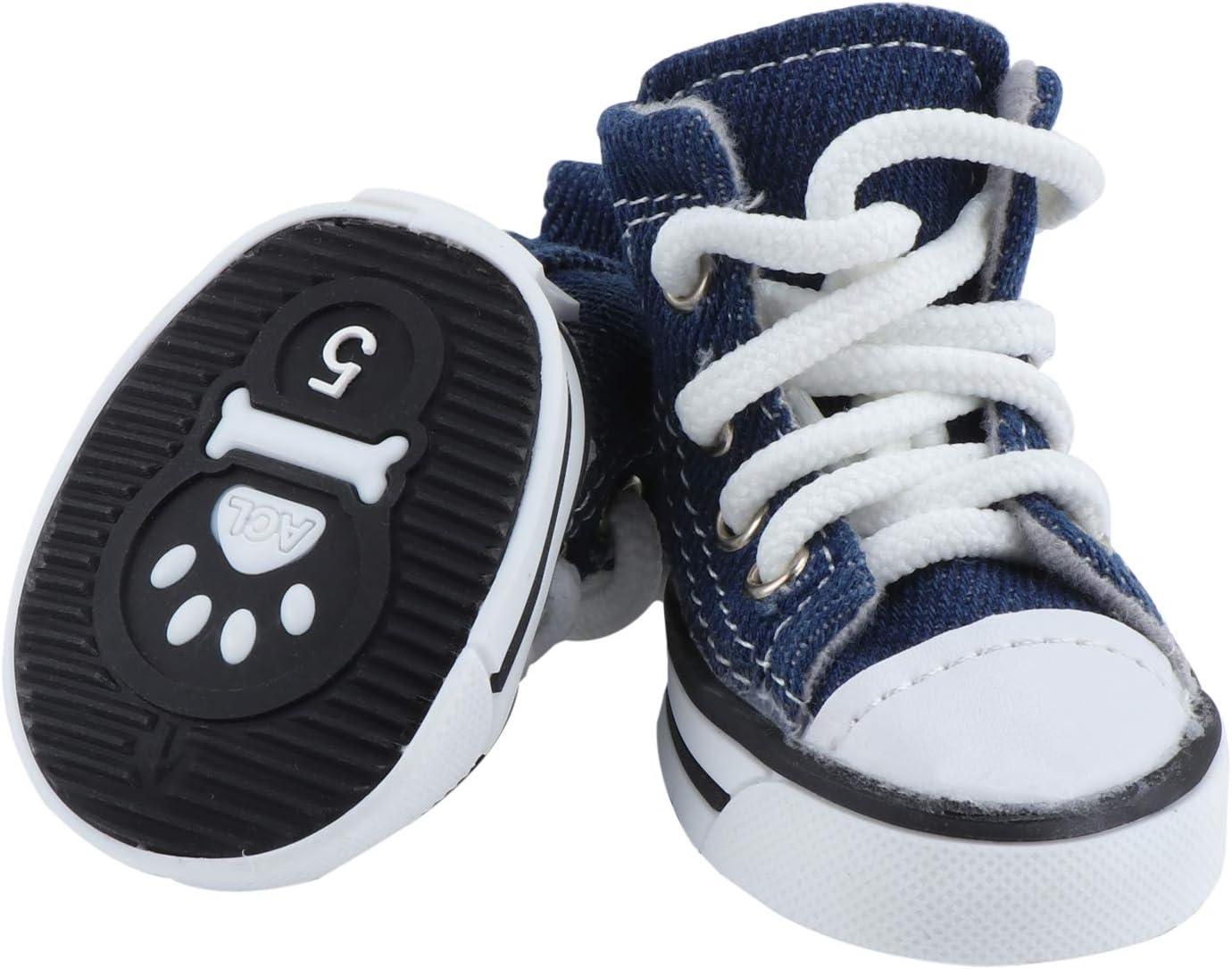 Zapatos para Perros peque/ños y medianos Suela Antideslizante Protector de Patas KEESIN Botas para Perro