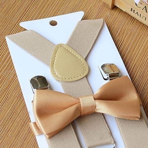 WuSEN - Juego de Lazos para cinturón y Corbata, Color sólido, para ...