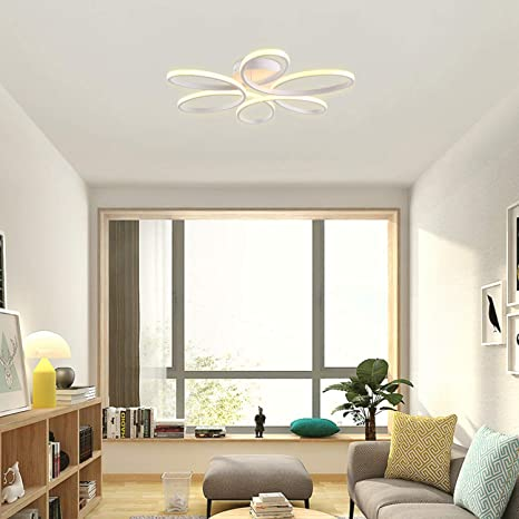 Ceiling Lights & Fans Yooe Modern Ceiling Lamps For Children Room Bedroom Studyroom Deco Surface Mount Flush Panel Remote Control Led Ceiling Lights