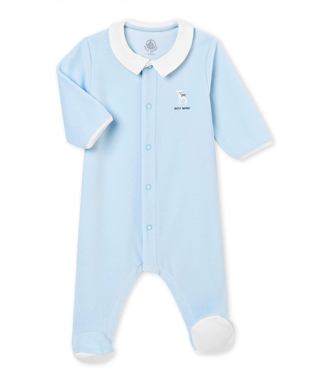 Petit Bateau Baby-Jungen Schlafstrampler 4416001