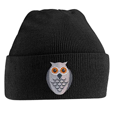 6afa7c10d61 Beanie Hats for Men Pig Face Beanies Embroidered Animal Face Knitted Wooly  Hat One Size Fits All Beanie Hat - Black  Amazon.co.uk  Clothing