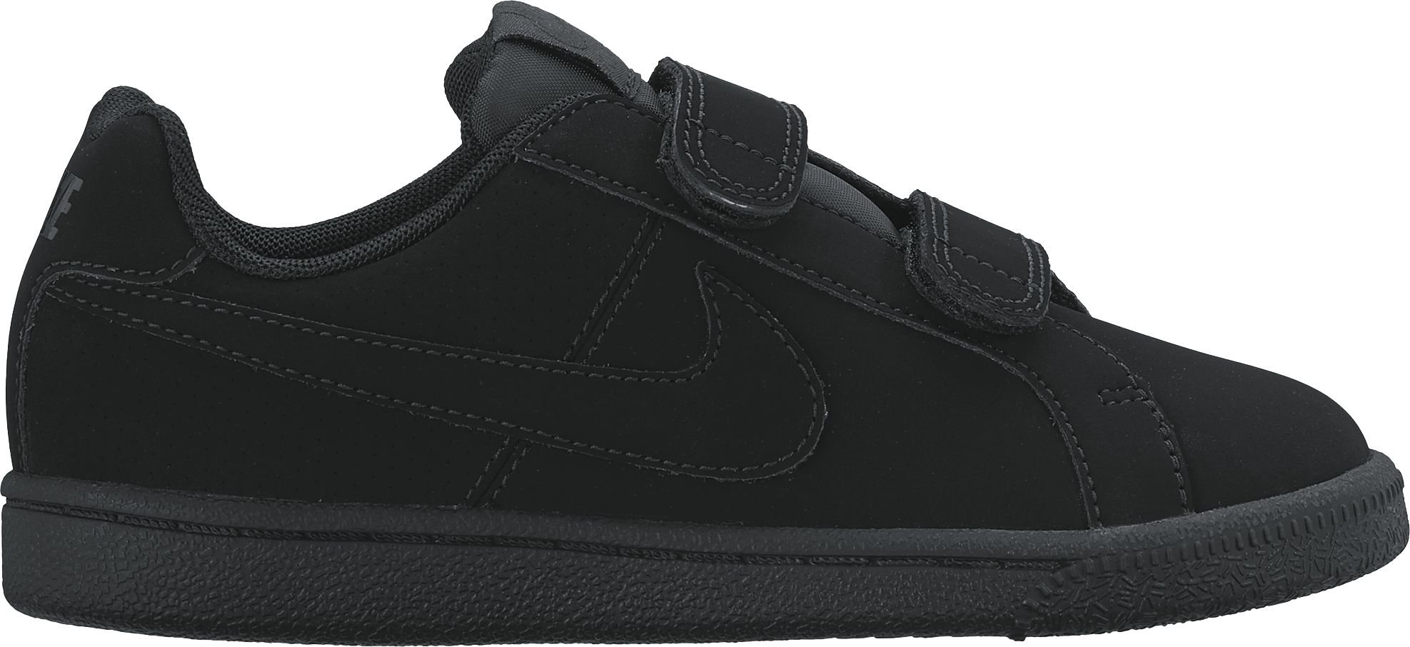 Nike Court Royale Little Kids Style Shoes : 833536, Black/Black, 12