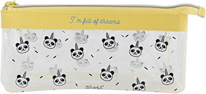 Mr. Wonderful ME2019F - Estuche triple con diseño I´m full of dreams: Amazon.es: Oficina y papelería