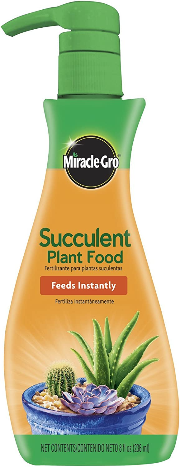 Miracle-Gro Succulent Plant Food, 8 oz., For Succulents including Cacti, Jade, and Aloe