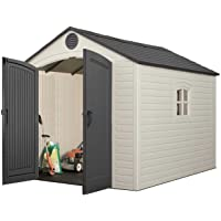 Lifetime 8 by 10 Feet Outdoor Storage Shed