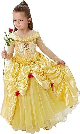 Princesas Disney - Disfraz de Bella Premium para niña, infantil 7 ...