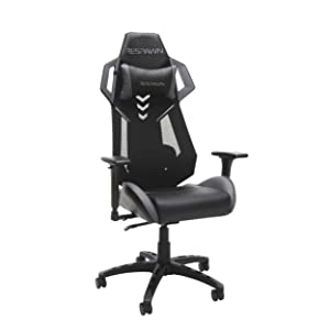 RESPAWN-200 Racing Style Gaming Chair - Ergonomic Performance Mesh Back Chair, Office or Gaming Chair (RSP-200-GRY)