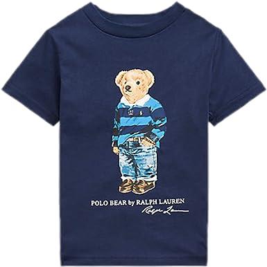 Polo Ralph Lauren - Camiseta Manga Corta NIÑO 323799045006 ...