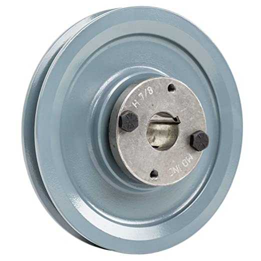 """Cast Iron pulley SHEAVE 5.75/"""" for electric motor 2 groove for 3L 4L /& A  belts"""