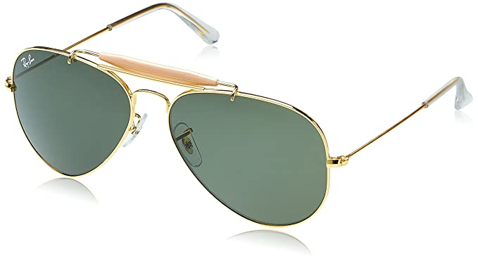 11987ff87ca Ray-Ban UV protected Aviator Men Sunglasses (0RB3129IW022658