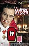 Vampire Teeth Kit Professional Accessory for Halloween Dracula Fancy Dress