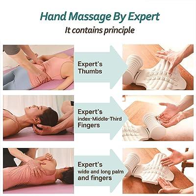 Body to body massage trier