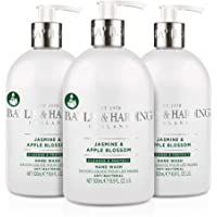 Baylis & Harding Jasmine and Apple Blossom Anti-Bacterial Hand Wash, 500 ml, Pack of 3