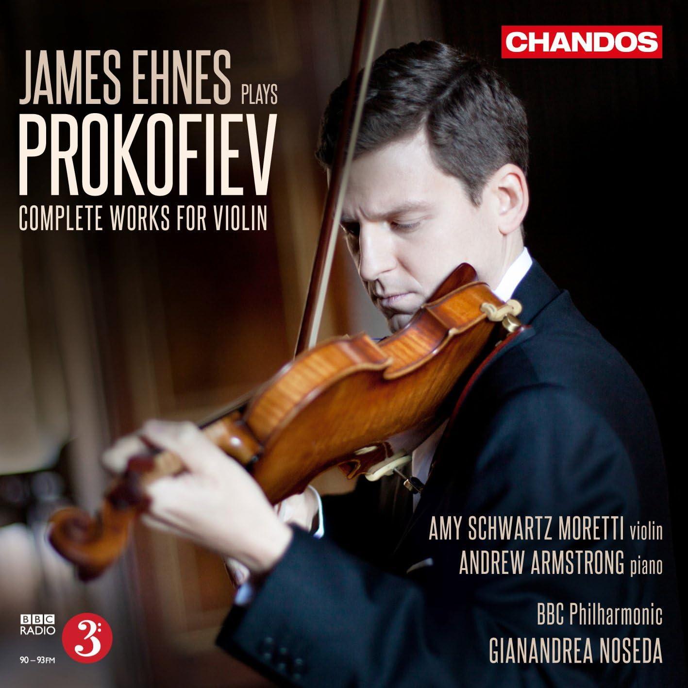 Image result for ehnes prokofiev complete violin