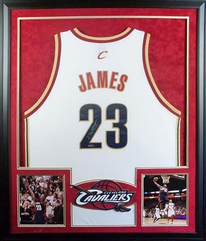 LeBron James Framed High School Jersey Signed UDA COA Upper Deck ...