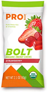 product image for Probar - Bolt Organic Energy Chews, Red Strawberry, 25.2 Ounce (Pack of 12)