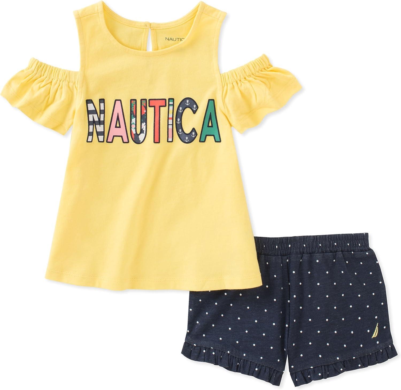 Nautica Baby Girls Shorts Set