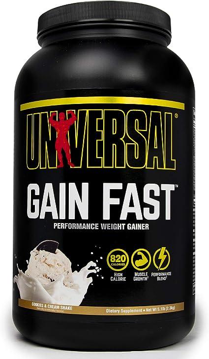 Universal Nutrition Gain Fast 3100 Vanilla Shake - 2300 gr ...