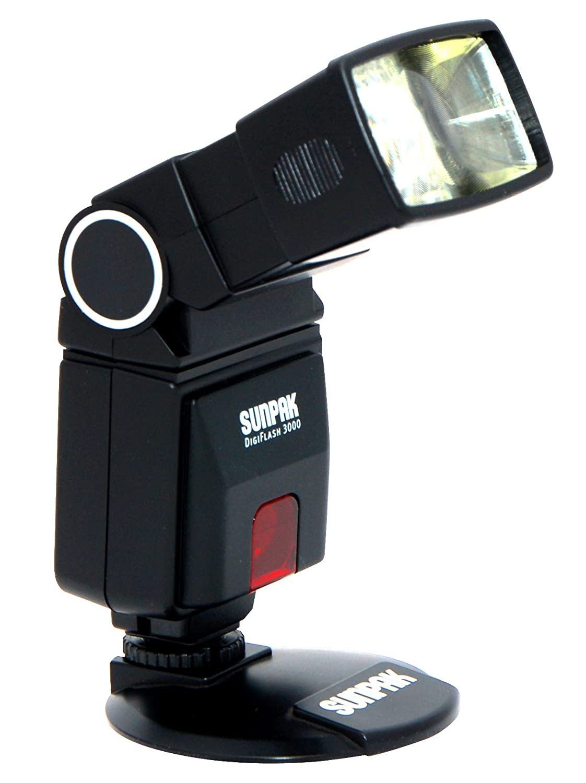 Amazon.com : SUNPAK DF3000N Digital Flash for Nikon(R) DSLR Cameras : On  Camera Shoe Mount Flashes : Camera & Photo