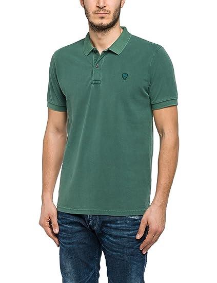 f3103b545599 Replay Men s M3352 .000.22450V Polo Shirt