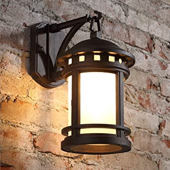 Wandlampe Retro Im Freienwand Lampe Impragniern Garten Lampen