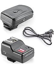 Neewer 16 Canal Inalámbrico De disparador de flash Speedlite Radio FM mando a distancia para cámara