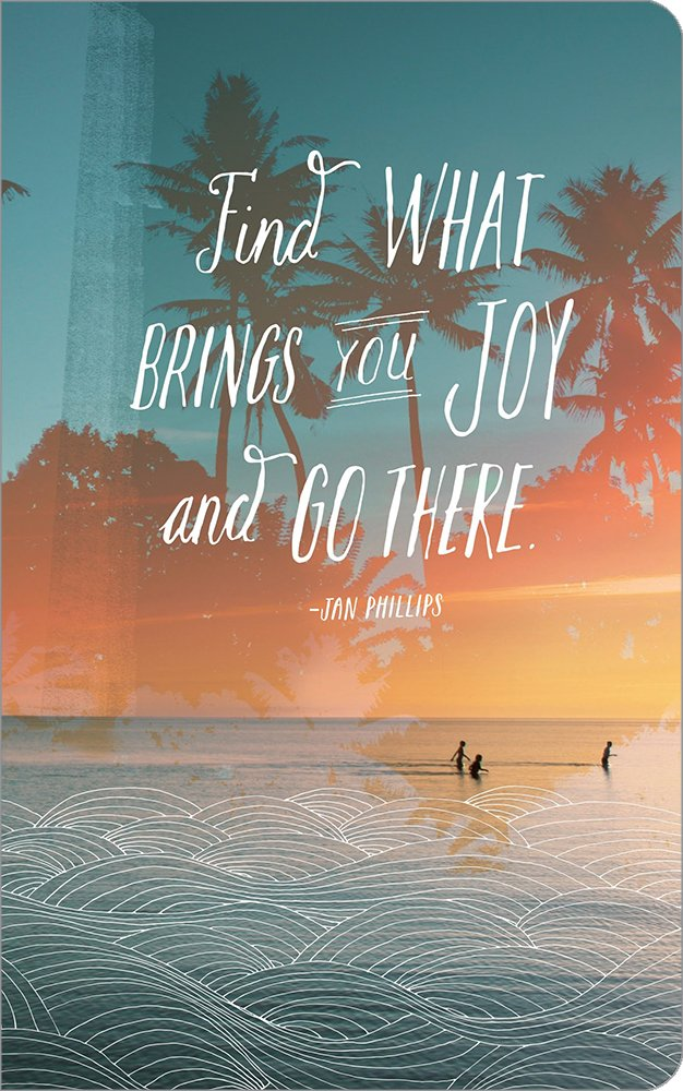 Find what brings you joy and go there. (Write Now Journal) pdf epub