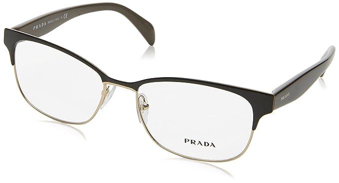 3db9149766d5 Amazon.com  Prada Women s PR 65RV Eyeglasses 53mm  Health   Personal ...