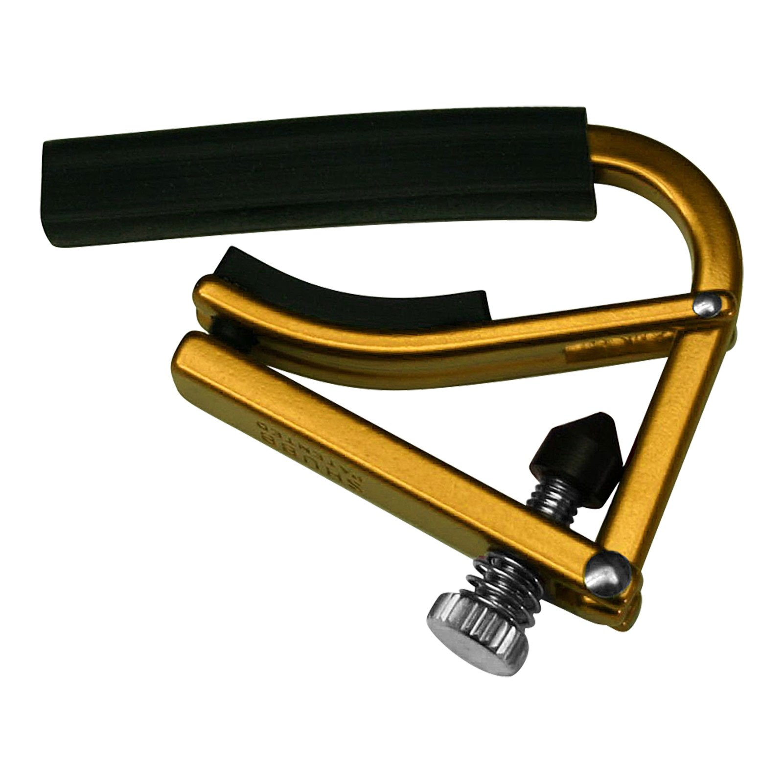 Shubb Lite Series GC-20ALGD (L1GLD) Acoustic Guitar Capo - Anodized Gold
