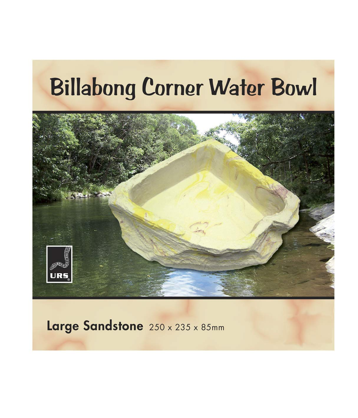 URS Water Bowl, Yellow Sandstone