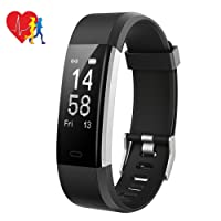 Smart Fitness Tracker, Mpow Activity Tracker Heart Rate Monitor with 14 Exercise Modes Sleep Monitor with GPS Route Tracking Pedometer Step Counter with 4 Watch Faces for Android or iOS Smartphones