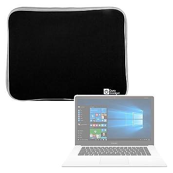 DURAGADGET Funda De Neopreno Negra para Portátil Chuwi LapBook Air/InnJoo LeapBook A100 - Resistente