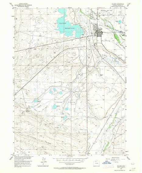 Amazon Com Yellowmaps Walden Co Topo Map 1 24000 Scale 7 5 X 7 5