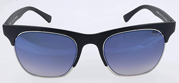 Amazon.com: anteojos de sol Police SPL 160 m Balck Azul ...