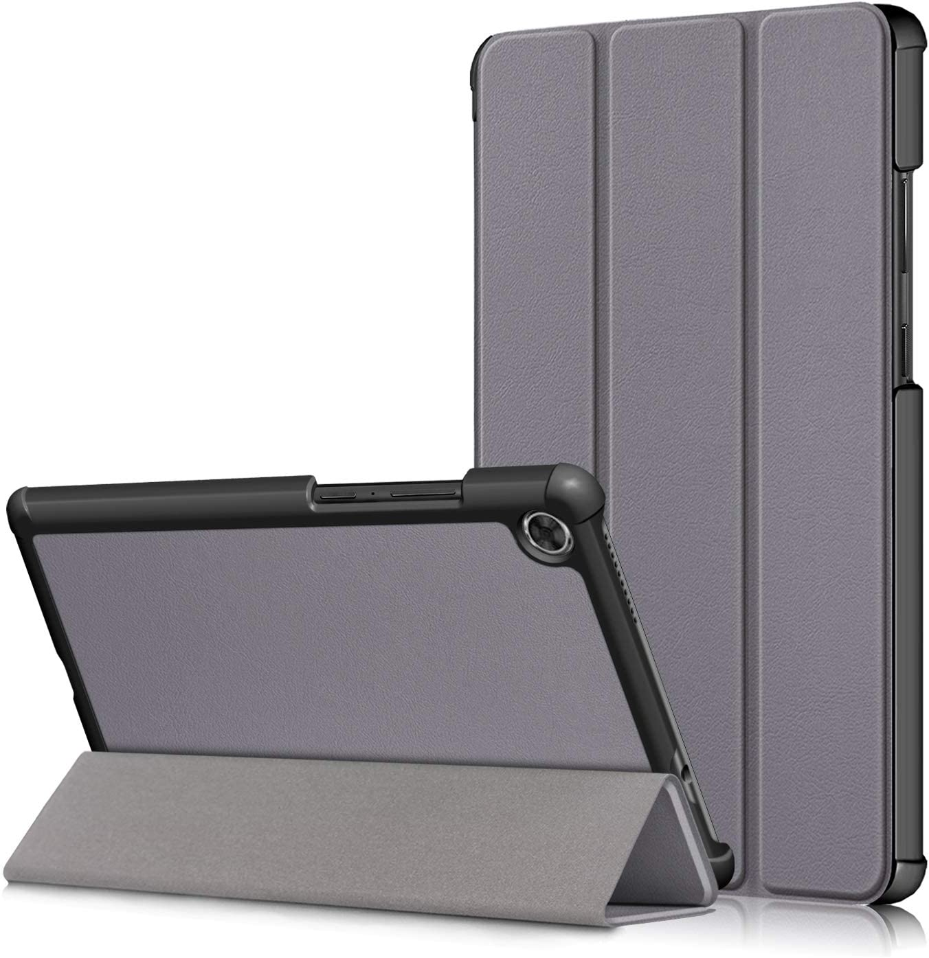 Case for Lenovo Tab M8 TB-8505F, Ratesell Lightweight Smart Trifold Stand Case Cover for Lenovo Tab M8 TB-8505F / TB-8505X / Lenovo Tab M8 (2nd Gen) 2019 Release Gray