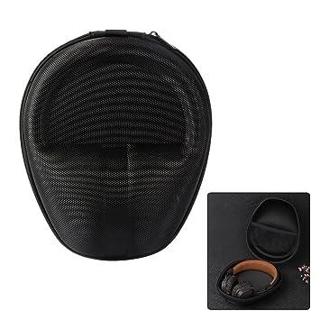 XCSOURCE® Universal Hard EVA auriculares bolsa bolsa de viaje (negro) para AKG,