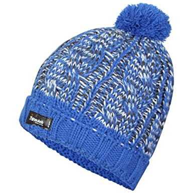 6a1830525bd Proclimate Ladies Waterproof   Windproof Thinsulate Beanie Hat - Blue