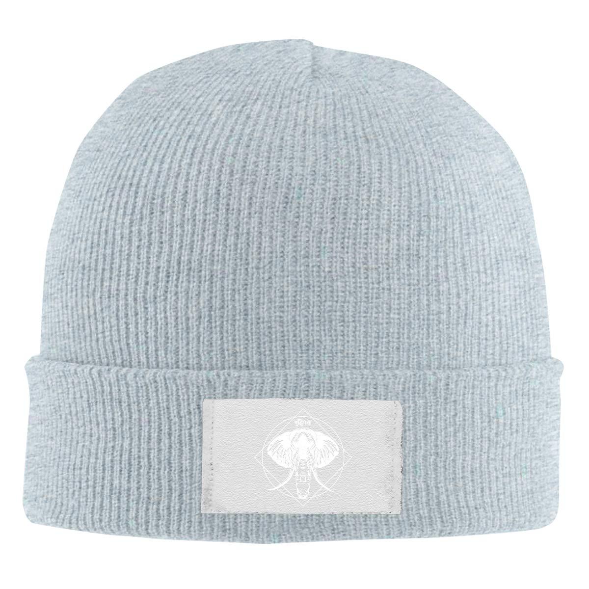 Stretchy Cuff Beanie Hat Black Dunpaiaa Skull Caps Alpha Male Winter Warm Knit Hats