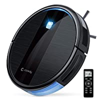 Coredy Robot Vacuum Cleaner, 1700Pa Strong Suction, Super Thin Robotic Vacuum, Multiple...