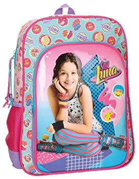 Disney 3462351 Soy Luna Mochila Escolar, 40 cm, 15.6 litros: Amazon.es: Equipaje