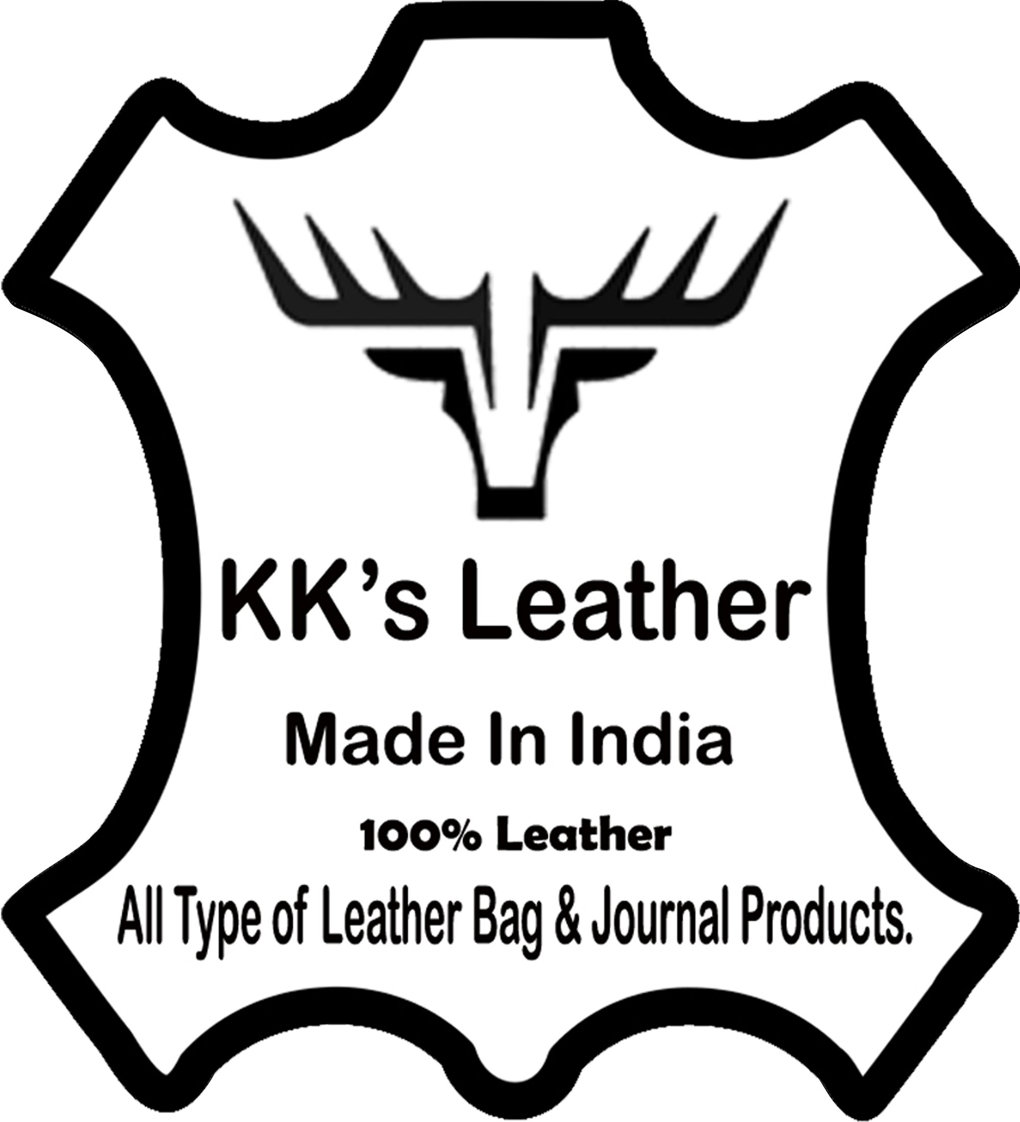 KK's 30 Inch Real Goat Leather Large Handmade Travel Luggage Bags in Square Big bag Carry On